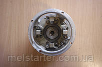 Щеткодержатель стартера + задняя крышка СТ100 (Под щетки НИВА) 24В