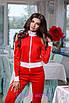 Спортивный женский костюм с разрезами на плечах 2rt475, фото 5
