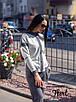 Спортивный женский костюм с вставками люрекса 36rt479, фото 3