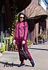 Спортивный женский костюм с вставками люрекса 36rt479, фото 5