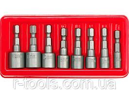 Набор торцевых головок 1/4″, 5-13 мм CrV 8 шт Vorel 66113