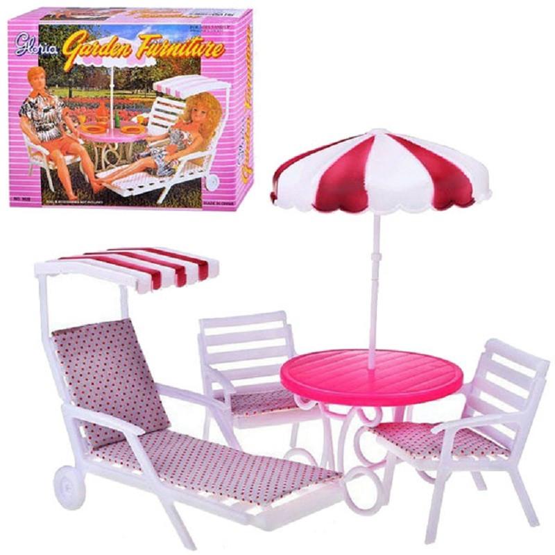 Кукольная садовая мебель «Пикник» Gloria 3920