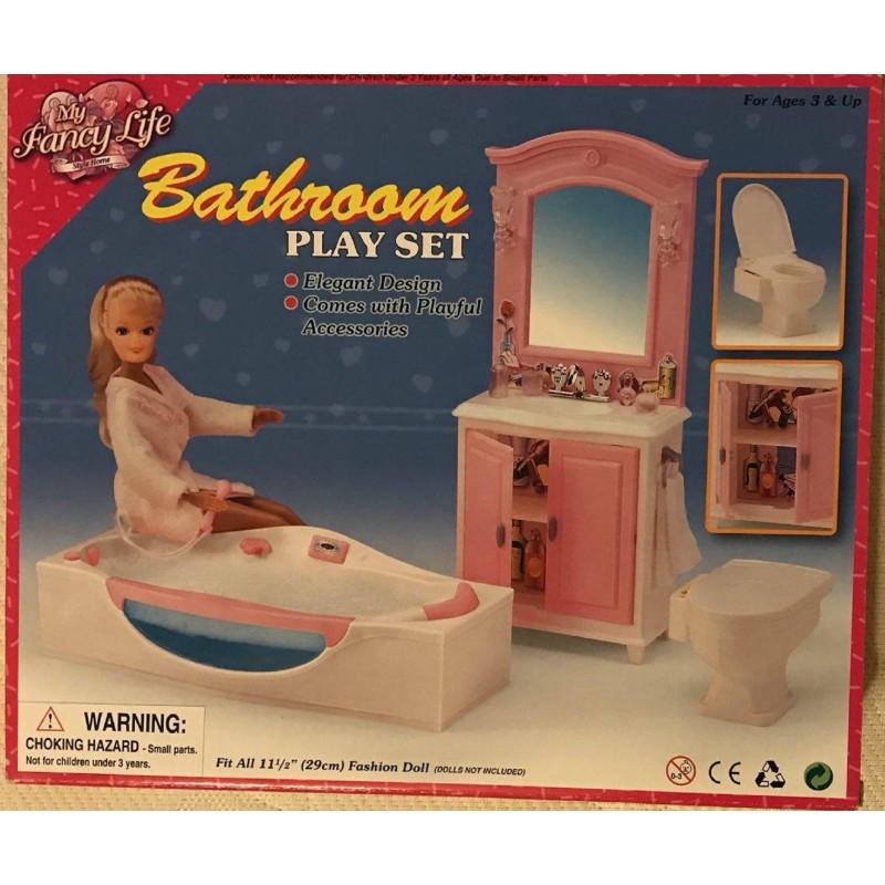 """Мебель для кукол """"Ванная с джакузи"""" Gloria 24020"""