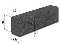 Бордюр гранитный (поребрик дорожный), бордюрный натуральный гранитный камень.