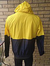 Спортивная ветровка унисекс плащевка на подкладке BONGEWOLF, фото 3