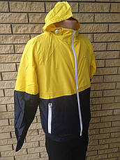Спортивная ветровка унисекс плащевка на подкладке BONGEWOLF, фото 2