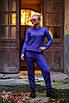 Вязаный женский брючный костюм с узором 60st859, фото 2