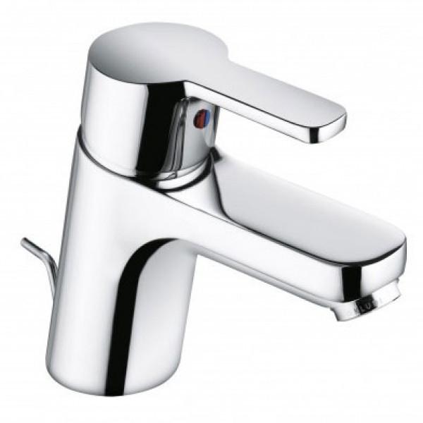 Смеситель для раковины с донным клапаном Kludi Logo Neo 372810575 хром