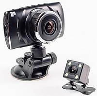 """Автомобильный Видеорегистратор DVR T430 4"""" Full HD на 2 камеры"""