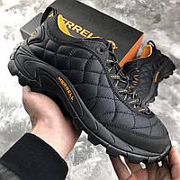 Зимние кроссовки Merrell Ice Cap Moc 2 Черные (ОРИГИНАЛ) 40-50 размер