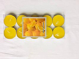 Свечи таблетки ароматизированные новогодние 6штук лимон