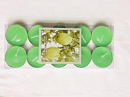 Свечи таблетки ароматизированные новогодние 6штук олива