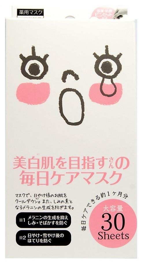 Курс масок для лица Japan Gals против пигментных пятен 30 шт (009816)