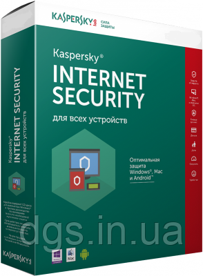Kaspersky Internet Security 1 ПК 1 год ESD электронная лицензия