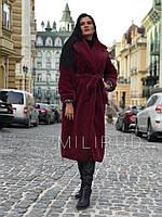 Женская шуба Пальто из меха под кролика 58rv30