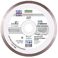 Круг алмазный Distar 1A1R Hard Ceramics 180 мм сплошной отрезной диск по керамограниту и керамической плитке
