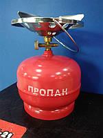 Газовый комплект Intertool 5л 2.2кВт , 145г/час, фото 1