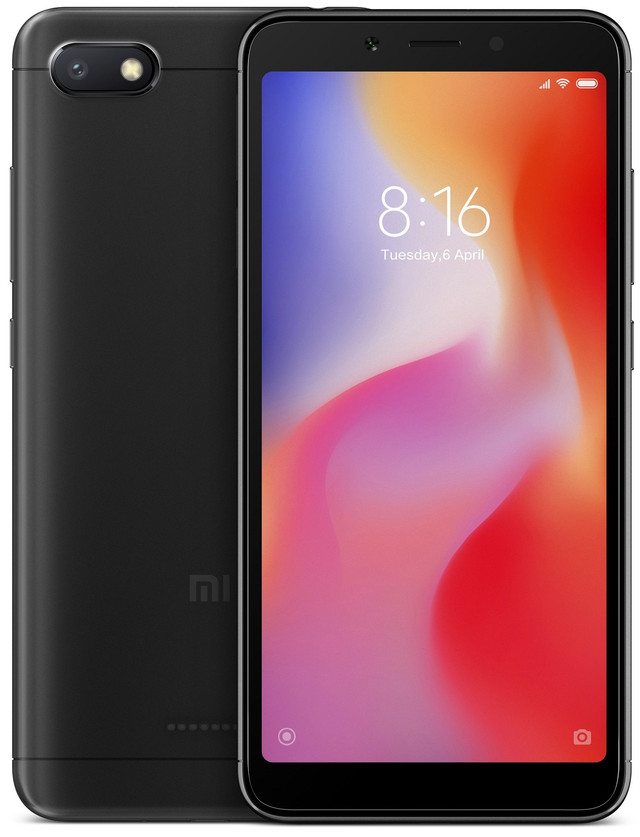 Смартфон Xiaomi Redmi 6A 216GB Black
