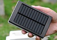 Универсальный аккумулятор Power Bank SOLAR 32000 mAh с солнечной панелью и LED лампой