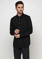 Рубашка мужская TOMMY HILFIGER цвет черный размер XXL М арт 1957888891078