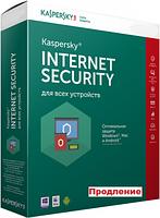 Антивирус Kaspersky Internet Security 1 ПК 1 год ESD продление электронная лицензия