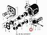 НШ46-0505037 Фланец (угловая муфта) НШ-32 (Украина), фото 5