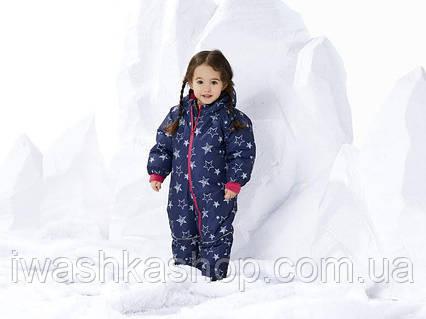Зимний термо комбинезон для девочки 12 - 18 месяцев, р. 86, Lupilu