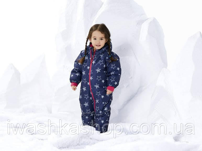 Зимовий термо комбінезон для дівчинки 9 - 12 місяців, р. 80, Lupilu