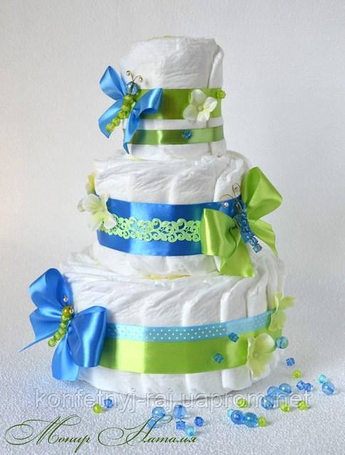 Торт з підгузників у пологовий будинок