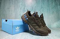 Кроссовки Classik U067 (Adidas Brand) (весна-осень, мужские, кожа комбинированная, черный)