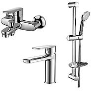 Набор смесителей для ванны 3 в 1 Volle Fiesta 1515112161 хром