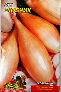Семена Лука сорт Любчик, пакет 10х15 см