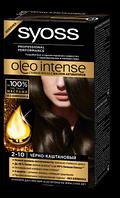 Краска Syoss Oleo Intense 2-10 Чёрно-каштановый