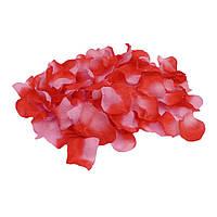 Лепестки роз уп. 120шт красно-розовые