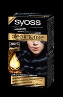 Краска Syoss Oleo Intense 1-40 Иссиня-черный