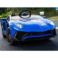Детский электромобиль Lamborghini, 2х45 Вт, Кожа, EVA-резина, Амортизаторы, дитячий електромобіль