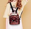 Рюкзак детский с пайетками и бантом Giaopixiong Розовый, фото 2