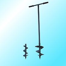 Ямобур ручної шнековий діам. 130/200 мм