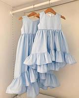 Нарядное праздничное платье на девочку от 5 лет