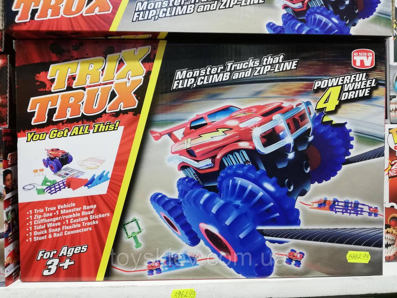 Игровой набор Trix Trux Monster Truk Канатный трек монстр-траки SUN2220