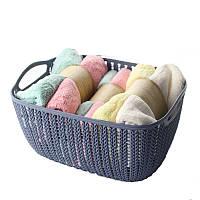 Корзинка для полотенец плетение 2 л Bathlux Fuegos artificiales 70272