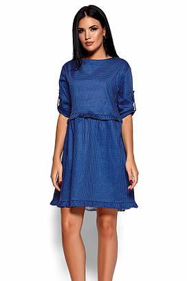 (S, M, L) Стильне синє коротке плаття Jita