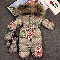53148c7a3233 Зимний Детский Комбинезон Gucci — Купить Недорого у Проверенных ...
