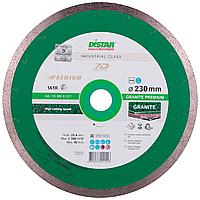 Круг алмазный Distar 1A1R Granite Premium 230 мм сплошной отрезной диск по граниту и керамограниту на станок