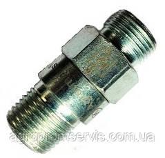 "Штуцер клапан замедлитель цилиндра ЦС-100  М 20 х 1,5 конус 1/2"", фото 3"