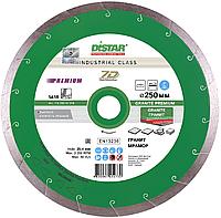 Круг алмазный Distar 1A1R Granite Premium 250 мм сплошной отрезной диск по граниту и керамограниту, Дистар