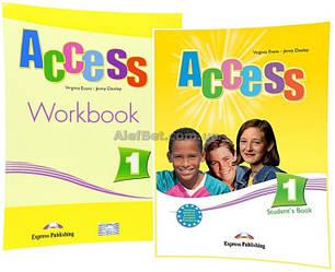 Английский язык / Access / Student's Book+Workbook. Учебник+тетрадь (комплект), 1 / Express Publishing