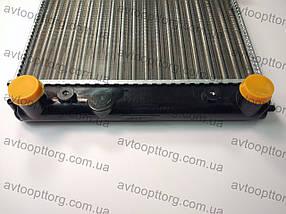 Радиатор охлаждения ваз 2108,2109,21099 WEBER алюминиевый , фото 3