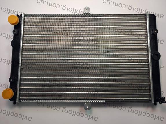 Радиатор охлаждения ваз 2108,2109,21099 WEBER алюминиевый , фото 2