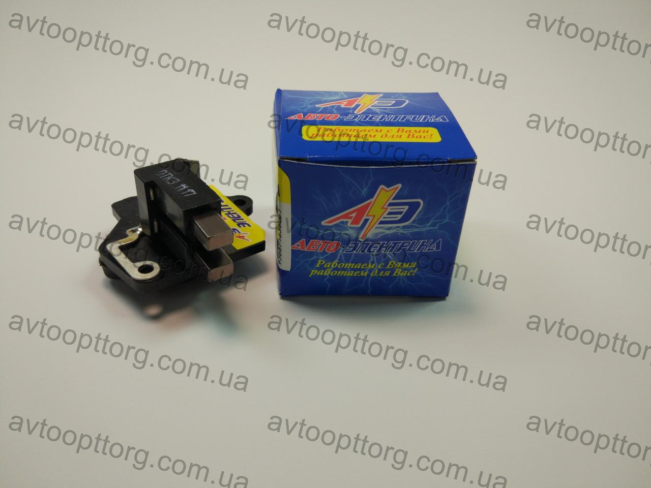 Регулятор напряжения 2108,2109,21099 с щетками (интегралка, реле зарядки, шоколадка)